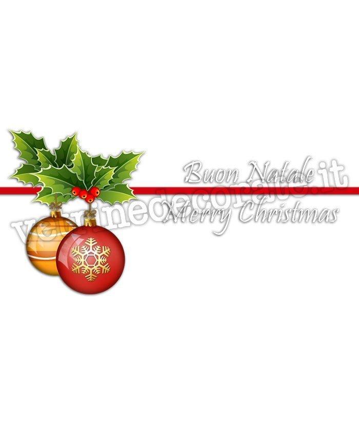 Immagini Con Scritte Di Buon Natale.108 Palle Di Natale Con Scritte Augurali