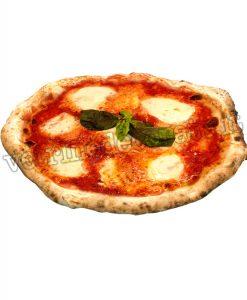 Pizza tonda margherita