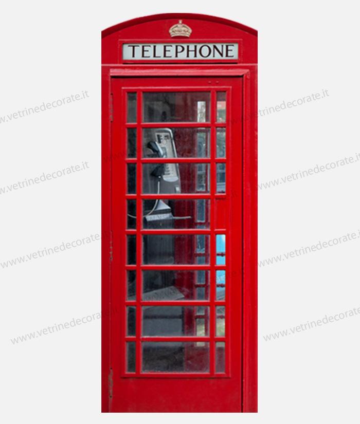 Immagine di una cabina telefonica inglese for Cabina telefonica inglese arredamento