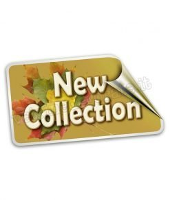 vetrofania etichetta new collection