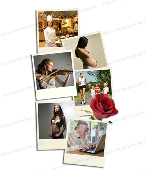varie-foto-con-donne-in-vari-momenti-di-vita