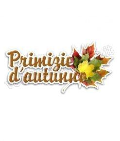 adesivo primizie d'autunno