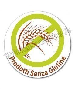 vetrofania prodotti senza glutine