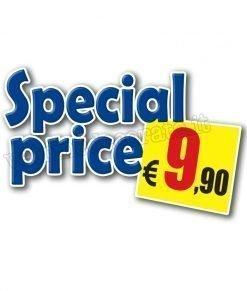 vetrofania scritta special price