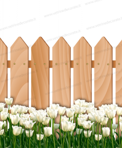 staccionata-di-legno-con-tulipani-bianchi