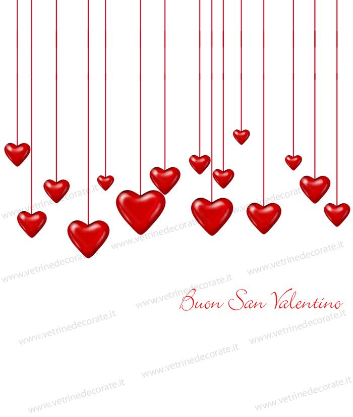 Cascata di cuori per s valentino for Immagini di cuori rossi
