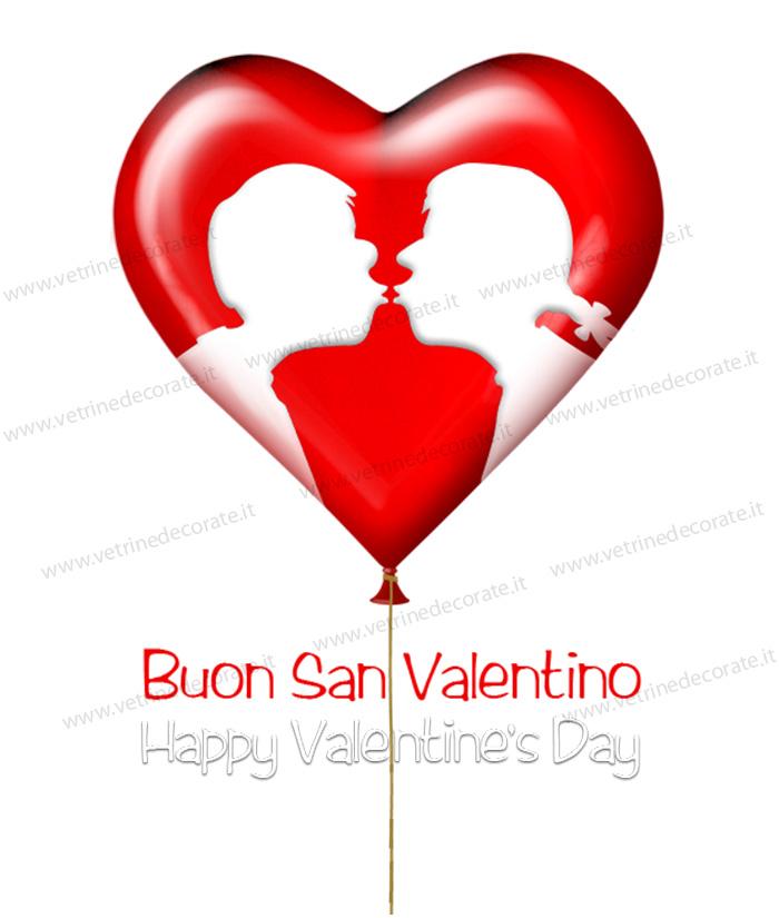 Cuore a palloncino degli innamorati - Animale san valentino clipart ...