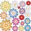 vetrofania gruppo fiori varie grandezze