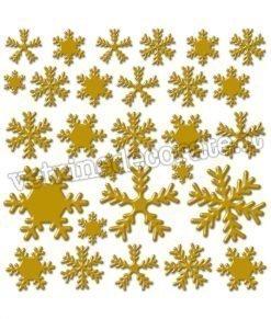 cristalli-dorati in vetrofania