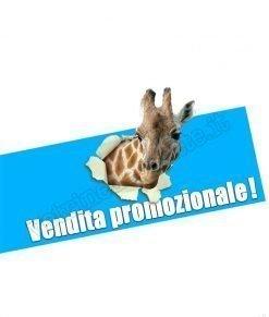 adesivo giraffa vendita promozionale