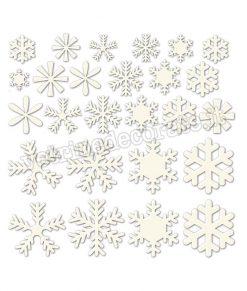adesivo cristalli colore bianco
