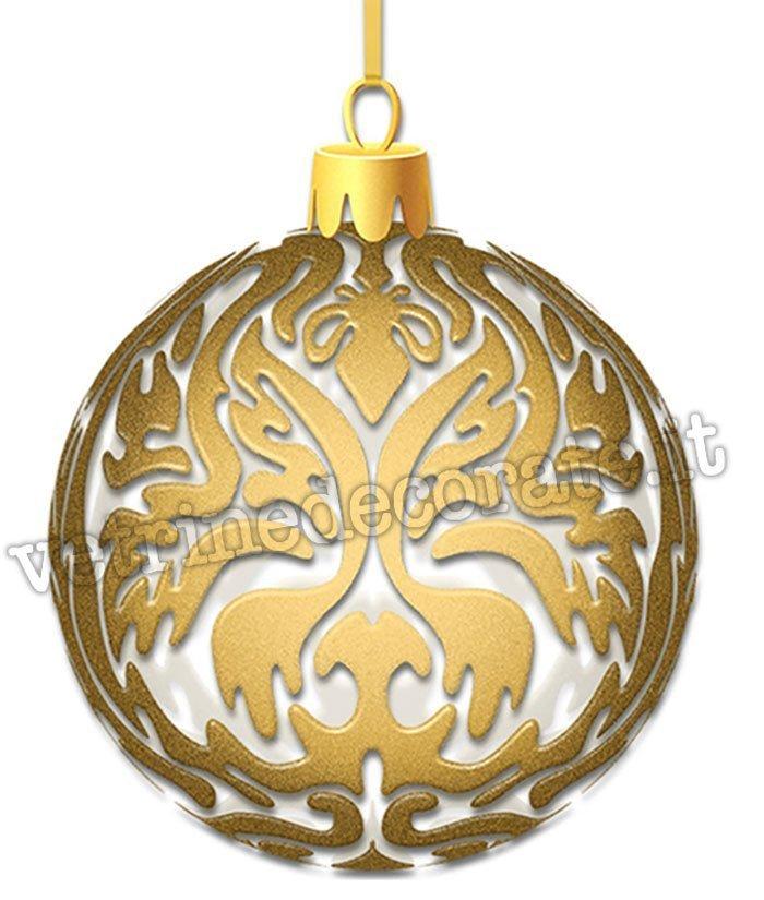 Immagini Palle Di Natale.206 Palle Di Natale Dorate In Stile Barocco