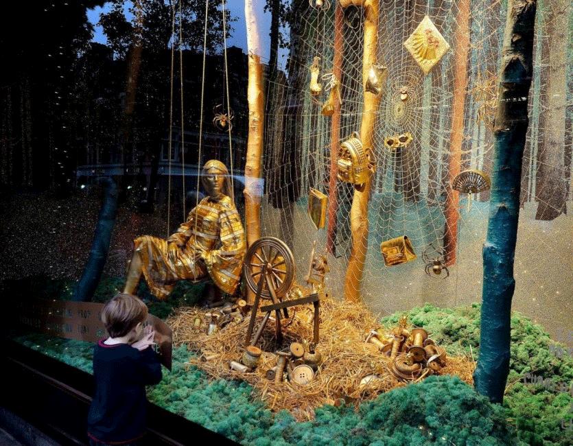 Consigli per la decorazione natalizia della vetrina - Idee per vetrine primaverili ...