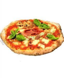 Pizza tonda capricciosa