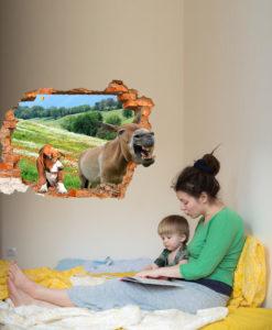 decorazione stanza di un bambino
