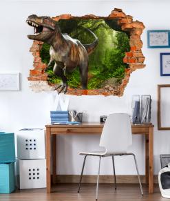 dinosauto nella stanza dei ragazzi