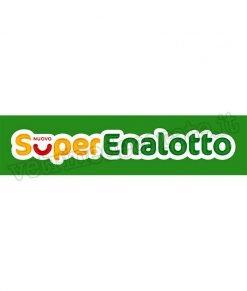 adesivo logo gioco superenalotto