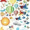 aerei e mongolfiere