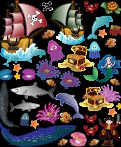 elementi del mondo marino