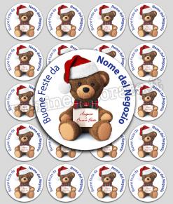 chiudipacco-orsetto natalizio