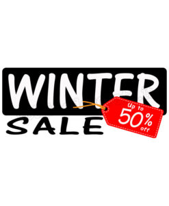 written winter sale