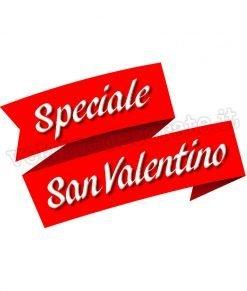 adesivo scritta speciale san valentino