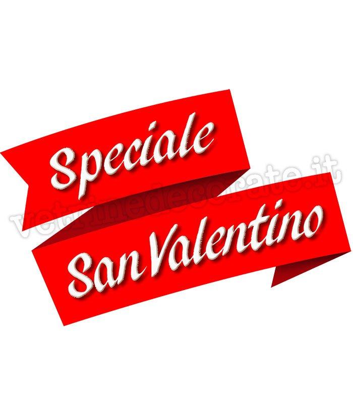 nastro con scritta speciale san valentino