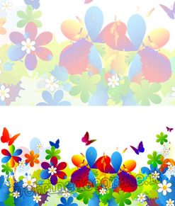 vetrofania modulo fiori primavera