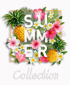 Summer collection decoration