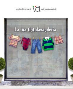 Vetrina lavanderia
