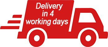 Delivery in 4 working days