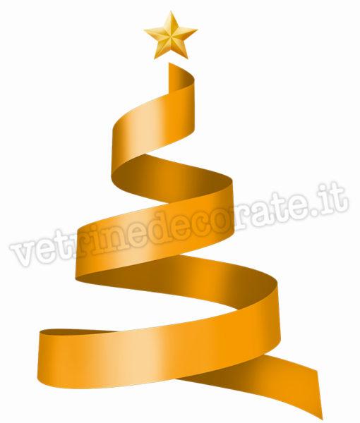 albero-natale-spirale-oro