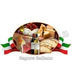 vetrofania prodotti alimentari italiani