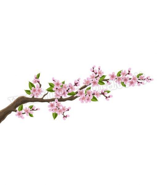 adesivo ramo-fiorito
