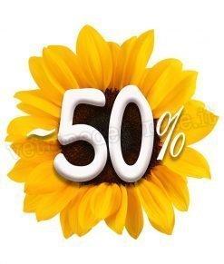 adesivo girasole-50%
