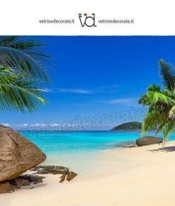 Spiaggia-palme