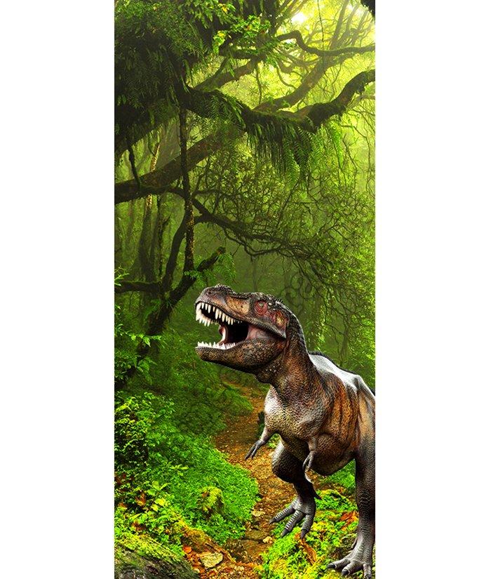 1115 decora la tua porta con un t rex che esce dal bosco for Decora la tua casa