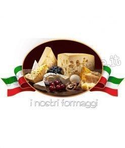 adesivo formaggi tipici
